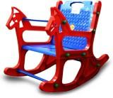 Abasr Plastic Rocking Chair (Finish Colo...