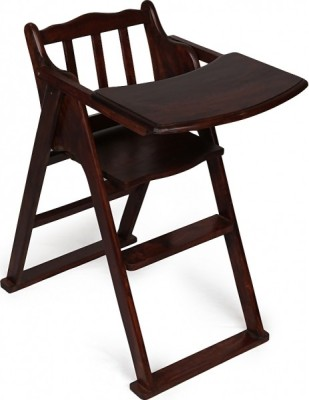Kingscrafts Solid Wood Chair(Finish Color - Walnut Brown)