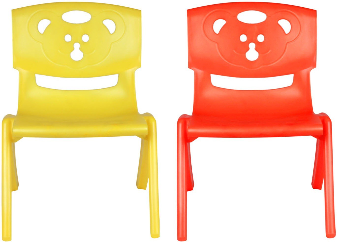 View Sunbaby MAGIC BEAR CHAIR Plastic Chair(Finish Color - YELLOW, RED) Furniture (Sunbaby)