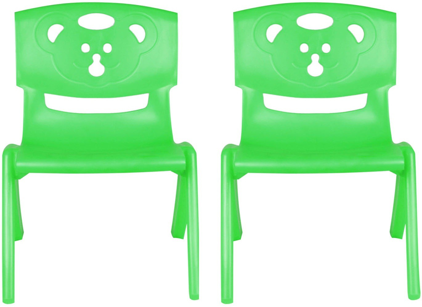 View Sunbaby MAGIC BEAR CHAIR Plastic Chair(Finish Color - GREEN, GREEN) Furniture (Sunbaby)