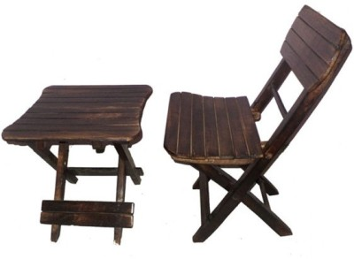 Onlineshoppee CAC Solid Wood Chair(Finish Color - Brown)