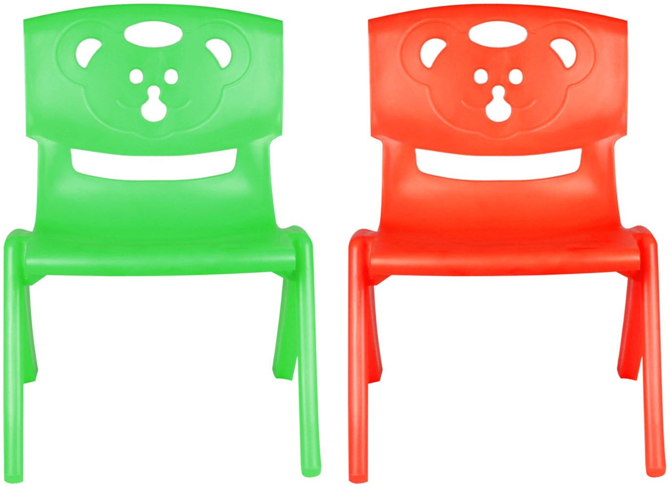View Sunbaby MAGIC BEAR CHAIR Plastic Chair(Finish Color - GREEN, RED) Furniture (Sunbaby)