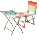 NHR Engineered Wood Desk Chair (Finish C...