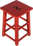 Hastkala Solid Wood Stool (Finish Color ...