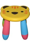 Taaza Garam Plastic Stool (Finish Color ...