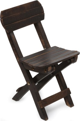 Onlineshoppee Solid Wood Chair(Finish Color - Black)