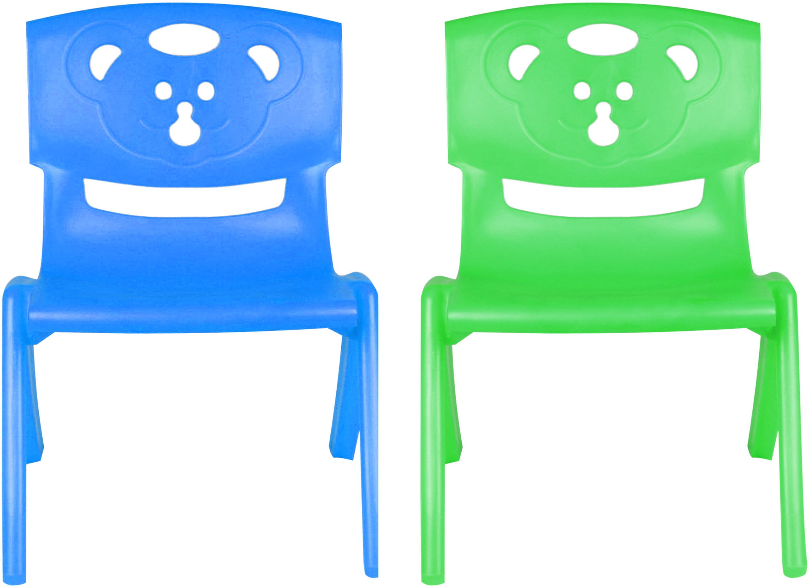 View Sunbaby MAGIC BEAR CHAIR Plastic Chair(Finish Color - BLUE, GREEN) Furniture (Sunbaby)