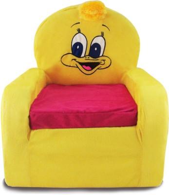 Tabby Toys Little Duck Kids Thermocol Foam Sofa Foam Sofa(Finish Color - yellow)