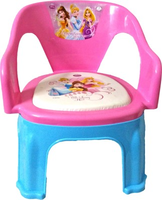 CSM Plastic Chair(Finish Color - Pink)
