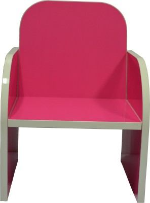 VFine Modulars Engineered Wood Chair(Finish Color - Pink)