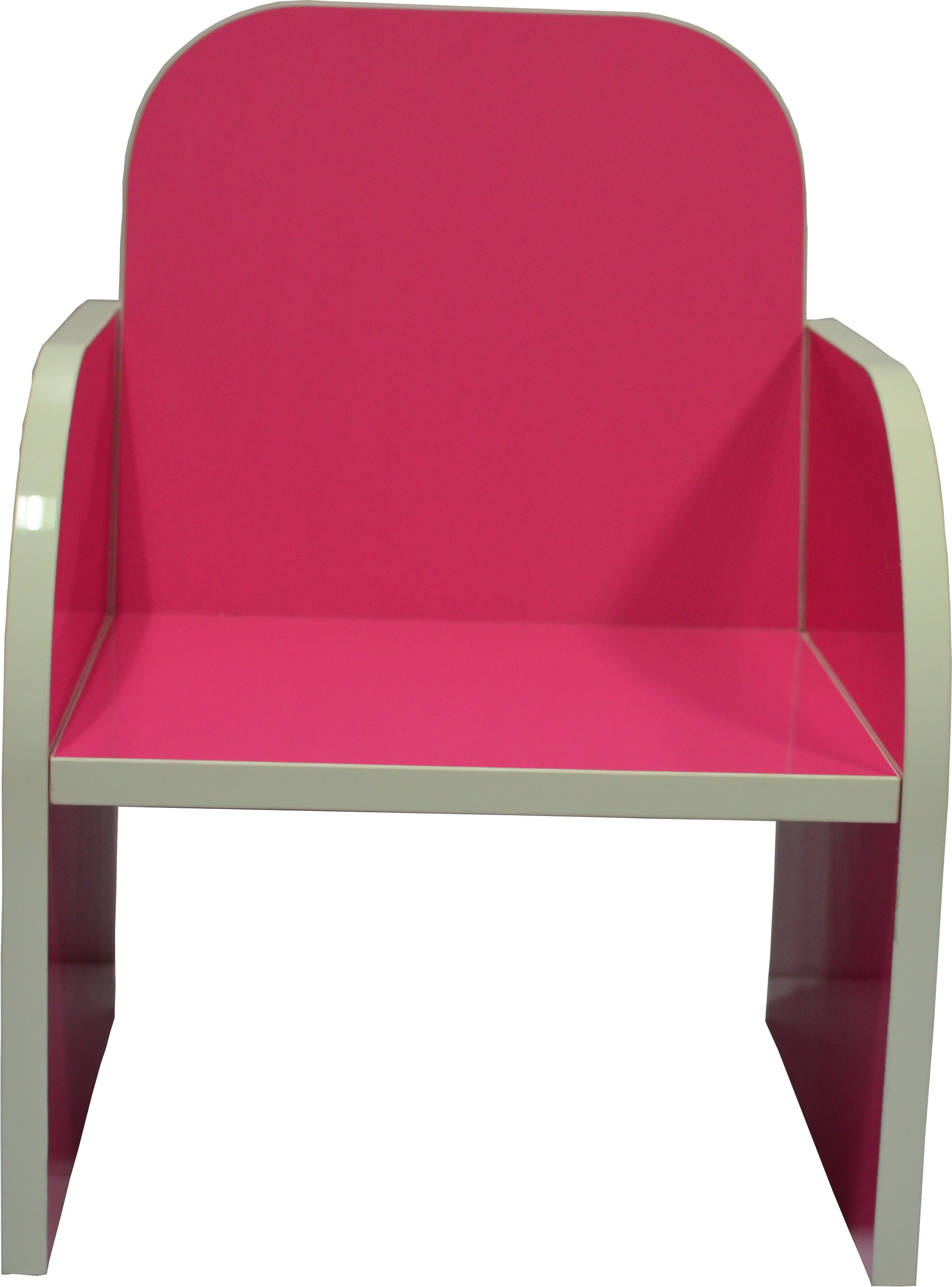 View VFine Modulars Engineered Wood Chair(Finish Color - Pink) Furniture (VFine Modulars)