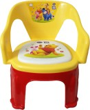 CSM Plastic Chair (Finish Color - Yellow...
