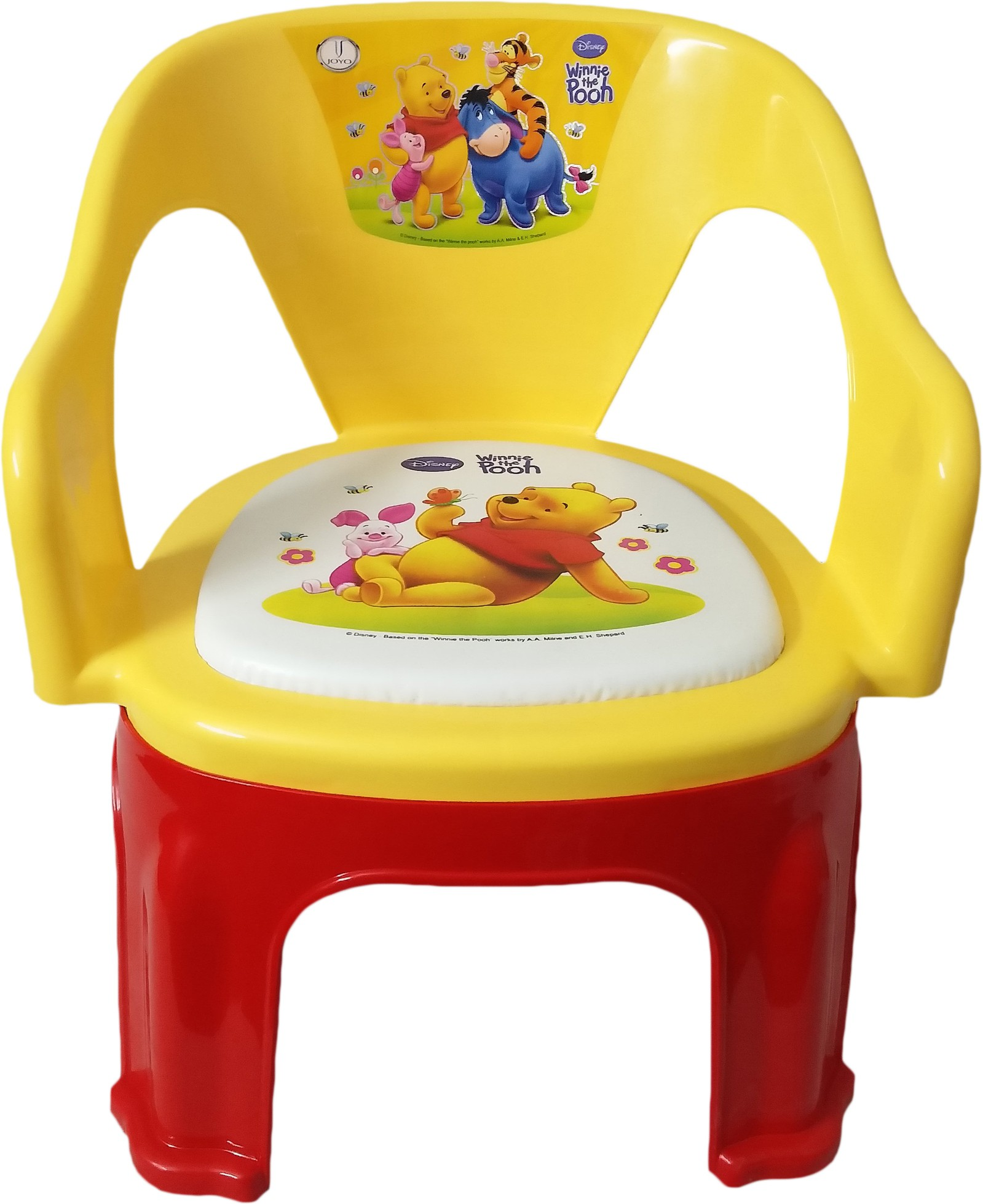 View CSM Plastic Chair(Finish Color - Yellow) Furniture (CSM)