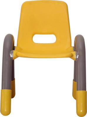 VJ INTERIO Plastic Chair(Finish Color - YELLOW)