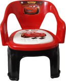 CSM Plastic Chair (Finish Color - Red)