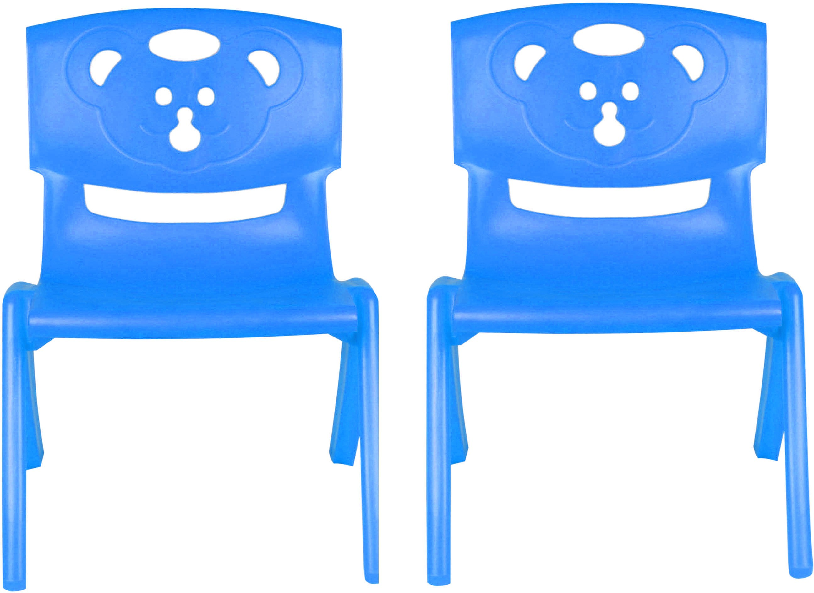 View Sunbaby MAGIC BEAR CHAIR Plastic Chair(Finish Color - BLUE, BLUE) Furniture (Sunbaby)