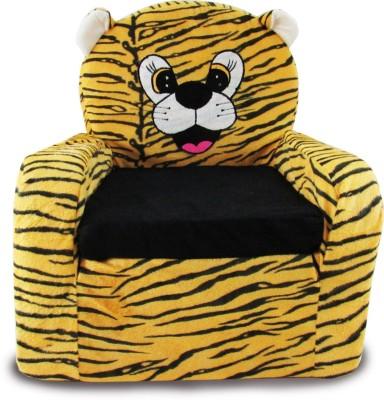 Tabby Toys Fabric Sofa(Finish Color - Orange)