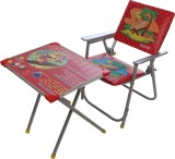 CSM Metal Desk Chair (Finish Color - Red...