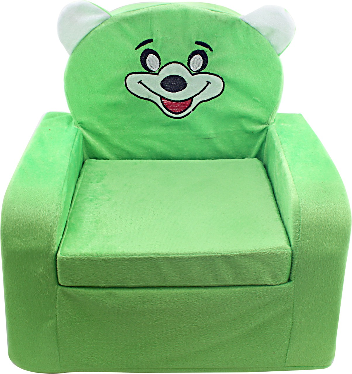 View Lovely Collection Foam Sofa(Finish Color - Green) Furniture (Lovely Collection)