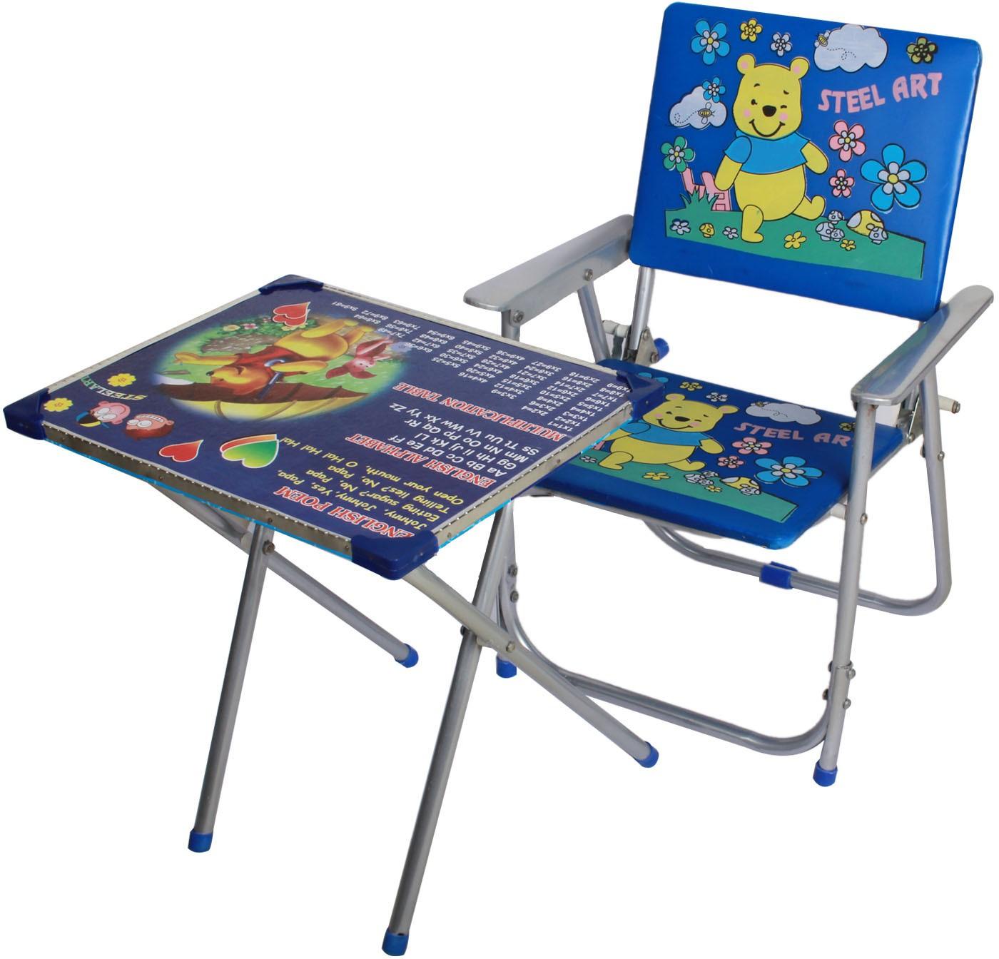 View Aarya Engineered Wood Desk Chair(Finish Color - Blue) Furniture (Aarya)