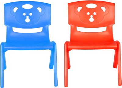 Sunbaby MAGIC BEAR CHAIR Plastic Chair(Finish Color - BLUE, RED)