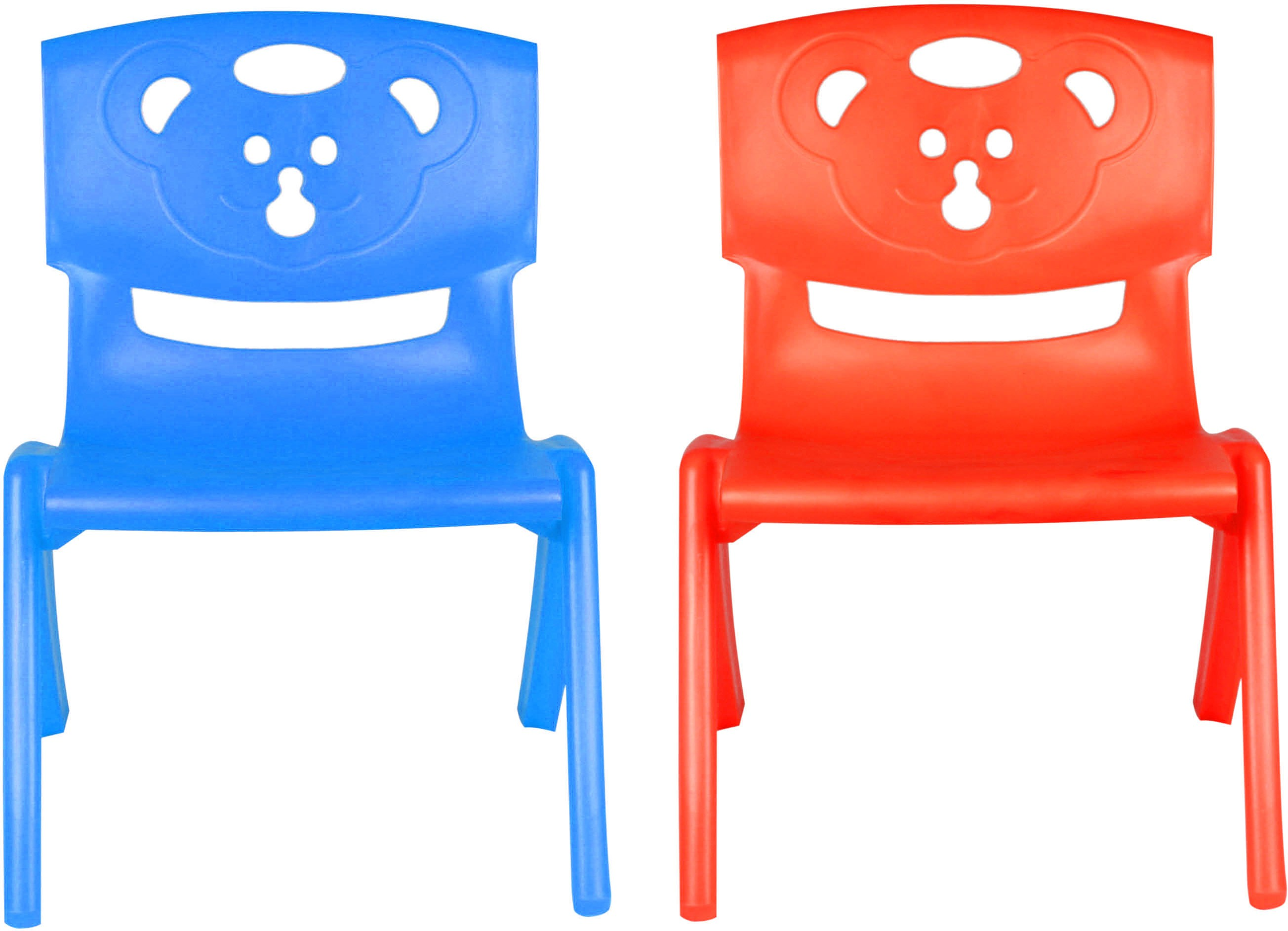 View Sunbaby MAGIC BEAR CHAIR Plastic Chair(Finish Color - BLUE, RED) Furniture (Sunbaby)