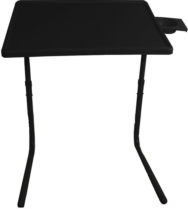 View Table Mate Black Folding Laptop Tablemate Plastic Study Table(Finish Color - Black) Furniture (Tablemate)
