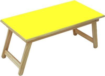 Kirat Solid Wood Study Table(Finish Color - Yellow)