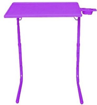 Tablemate Voilet Portable Folding Laptop Plastic Study Table