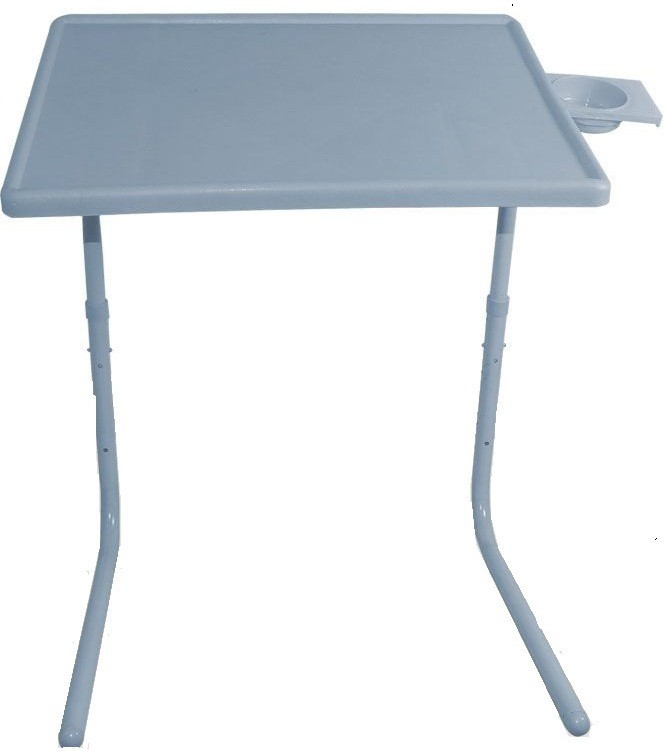 View Table Mate Grey Adjustable Table Plastic Study Table(Finish Color - Grey) Furniture (Tablemate)
