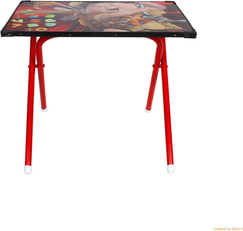 Abhiyantt Plastic Study Table(Finish Color - Red)
