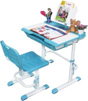 Alex Daisy Universal Metal Study Table(Finish Color - Blue & White)