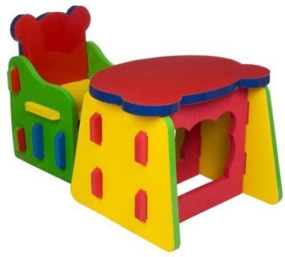 CUTEZ Foam Study Table(Finish Color - MULTI COLOUR)