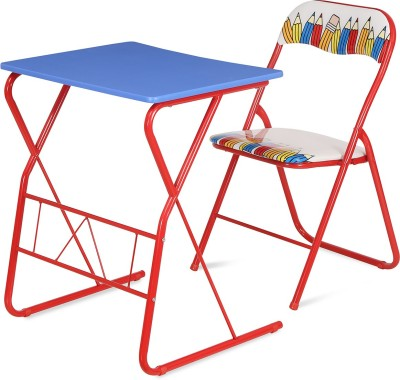 @home by Nilkamal Memo Metal Study Table(Finish Color - Multicolor)