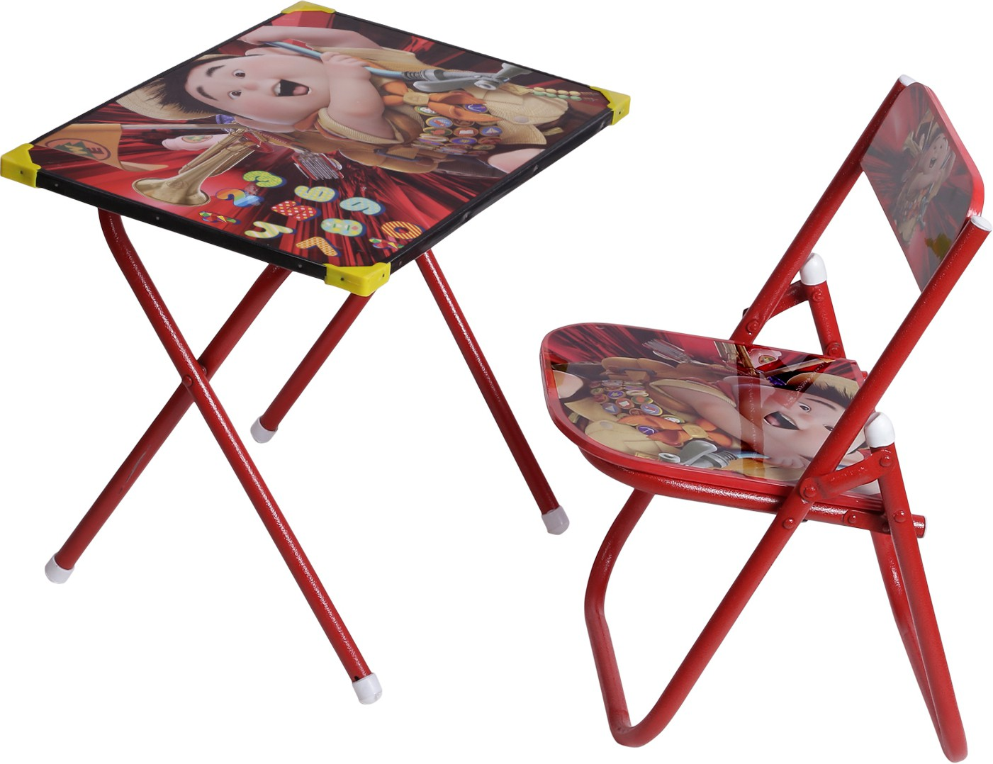 View NHR Metal Study Table(Finish Color - red) Furniture (NHR)