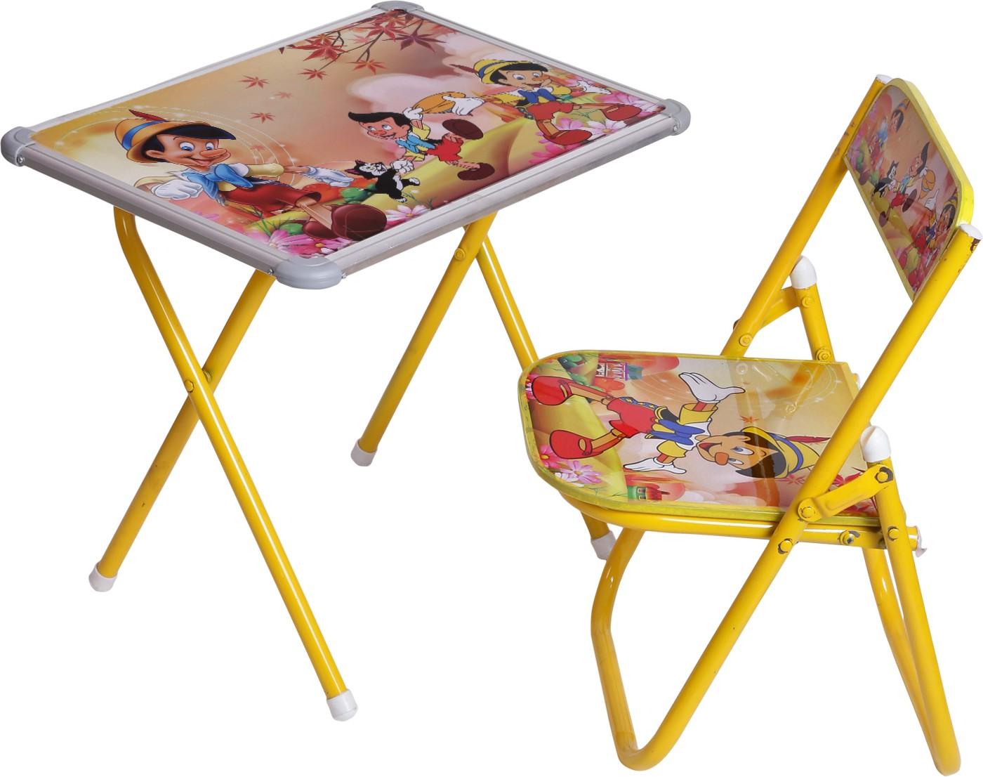 View NHR Metal Study Table(Finish Color - Yellow) Furniture (NHR)