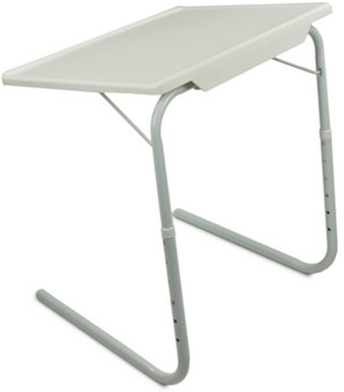 Shrih Plastic Study Table(Finish Color - White)