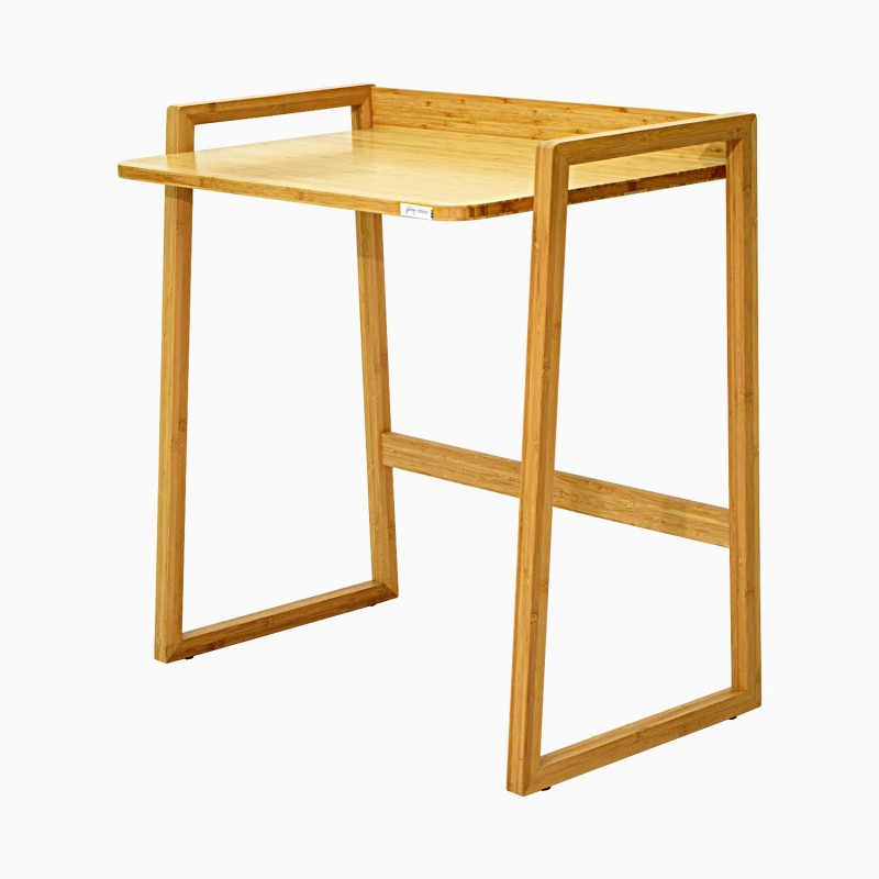 Godrej Interio Bamboo Study Table(Finish Color - Camel brown)
