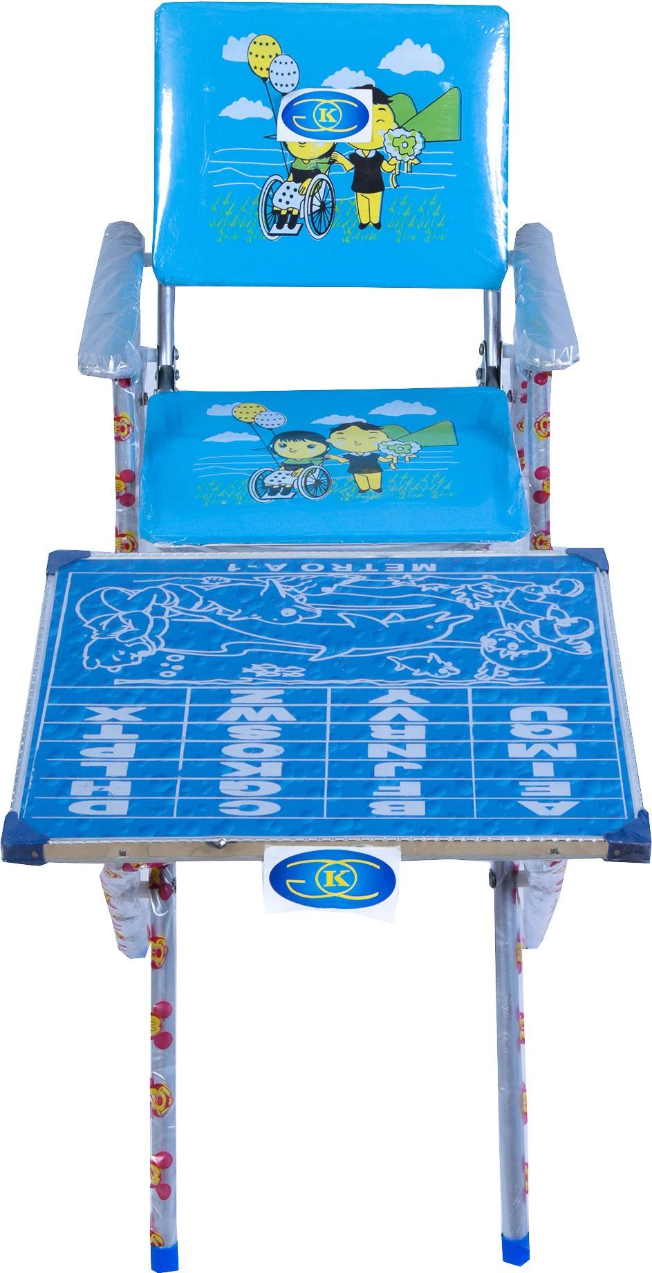 View KGC Networks Metal Study Table(Finish Color - Blue) Furniture (KGC Networks)