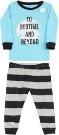 Carter's Boys Casual T-shirt Pyjama(Black)