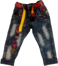 Sonpra Boys Party(Festive) Jeans Jeans(Black)