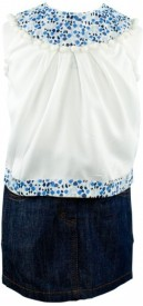 page3baby Girls Casual Top Skirt(White)