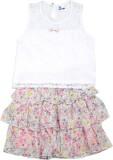 612 League Girls Casual Top Skirt (White...