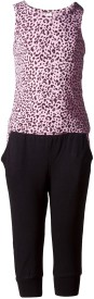Naughty Ninos Girls Casual Top Trouser(Pink)