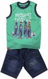 Mankoose Boys Casual T-shirt Shorts (Dar...