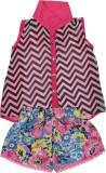Addyvero Girls Casual Shirt Shorts (Pink...