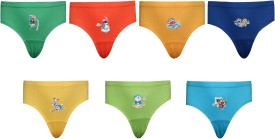 Red Rose Brief For Boys(Multicolor Pack of 7)