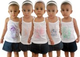 HAP Camisole For Girls (Multicolor, Pack...