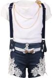 Flowerchild Girl's Mini/Short Casual (Bl...