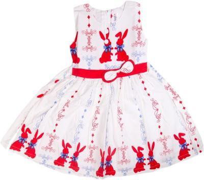 Senfin A- Line Dress For Girls